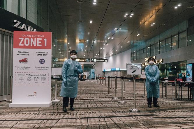 Zone 1 at Singapore Changi Airport