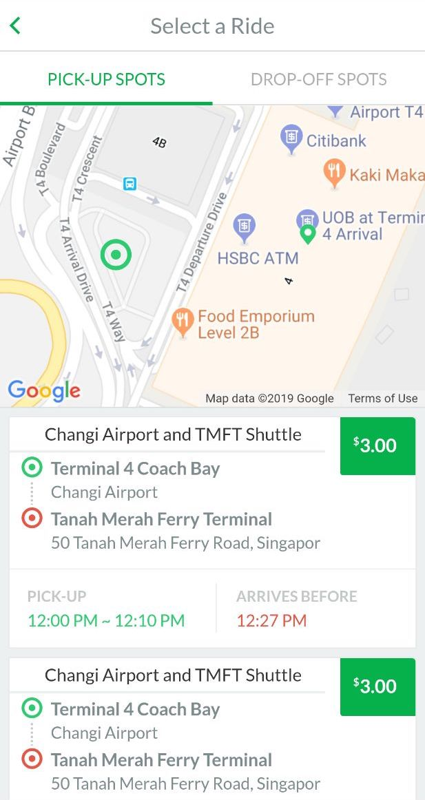 Shuttle Services   Changi Airport Singapore on