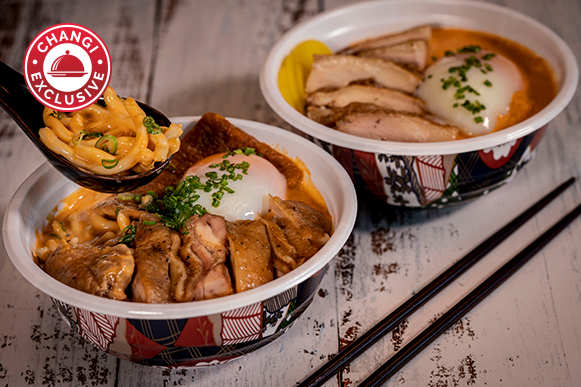 Laksa Chicken Udon & Laksa Chicken Curry Rice